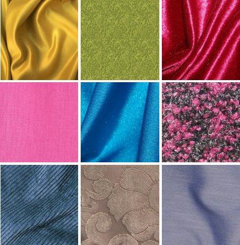 Ткани для платья названия и фото