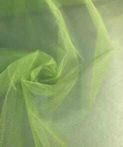 Сетка фатин зеленая