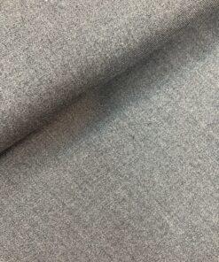 Костюмная ткань серая из натуральной шерсти