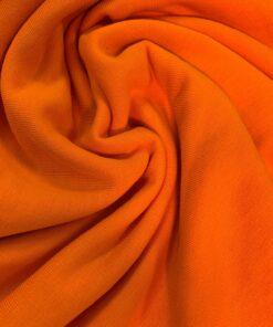 Трикотаж футер 3-х нитка цвет Апельсин