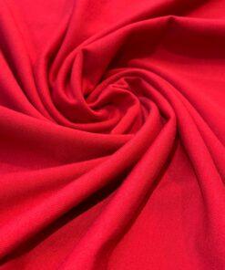 Трикотаж футер 2-х нитка цвет Красная малина